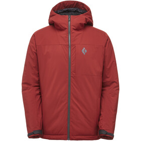 Black Diamond Pursuit Hoody Jacket Herre red oxide